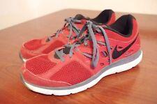 Nike Dual Fusion Lite Men's Running Shoe Sz US 9 M (D) EU 42.5 Red 599513-600