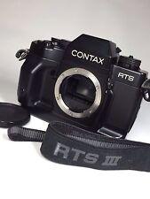 """Near Mint"" Contax RTS III 35mm SLR Film Camera Body Only #1119"