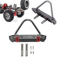 Upgrade Metal Aluminum Car Front Bumper Protection Kits for Axial SCX10 RC Car H