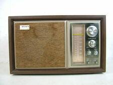 Vintage Transistor Table Desk Radio Sony ICF-9550W AM/FM Lighted