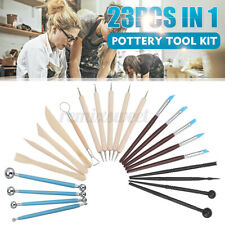 23Pcs Pottery Tools Clay Sculpting Tools Ceramic Polymer Carving Modeling Kit