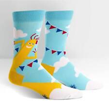 Sock It To Me Men's Crew Socks - The Ecstasy of Mr Wavy Arms