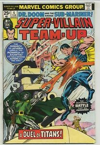 Super-Villain Team-Up 4 Early Issue