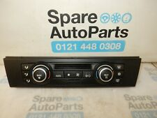 BMW 3 SERIES E90 (2005 - 2009) HEATER CLIMATE CONTROL PANEL 9182287