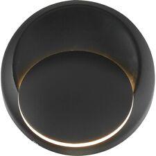 Nuvo Lighting Pinion LED Sconce, Black- 62-1469