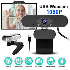 HD 1080P Web Camera USB Webcam with Microphone For Video Skype Laptop Desktop PC
