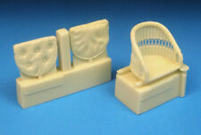 Barracuda 1/32 Sopwith Camel Wicker Seat without Seatbelt # 32332