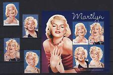 Tuvalu 2007 - Marilyn Monroe - Norma Jeane Baker Mortenson - MM - 1373-76 ** MNH