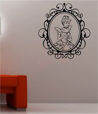 Disney Wall Art Stickers Cinderella Character Vintage Effect Border Vinyl Decals
