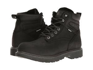 Men Wolverine Floorhand Soft Toe Waterproof Work Boot W10691 Black 100% Original