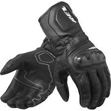 Rev It RSR 3 Leather Motorcycle Gloves Summer Vented Sport Racing Biker Gauntlet
