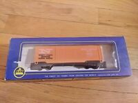 Vintage A H M HO Scale Train Double Door Box Car 5298 H New Haven with Box