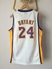 LOS ANGELES LAKERS NBA BASKETBALL JERSEY SHIRT KOBE BRYANT #24 SWINGMAN ADIDAS