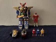Power Rangers Zeo Megazord, Morpher, Action Figure and Ranger Keys