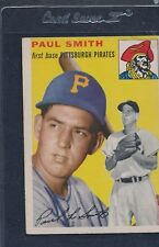 1954 Topps #011 Paul Smith Pirates VG 54T11-21116-1