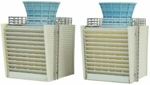 Scene Collection Scene Accessories 073-2 Complex B2 Cooling Tower Diorama