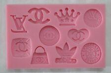 Famous Logo Chocolate/Fondant Silicone Polymer Mold