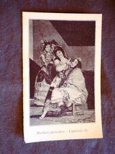 Barbiere pericoloso - capriccio 35 Quadro di Goya