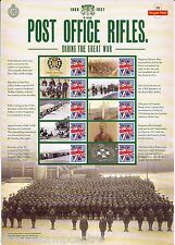 Css-027 - Post Office Rifles Commemorative Stamp Sheet