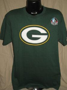 NFL Green Bay Packers Football Bart Starr #15 Jersey Shirt Mens Size HOF Tee Nwt