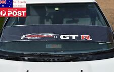 GTR Eagle Windshield Reflective Sticker Nissan 350Z 370Z GT-R Skyline Juke 130cm