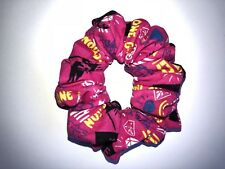 One Direction Hair Scrunchie Hot Pink & Multi 1D Harry Niall Liam Louis Zayn New