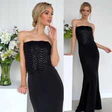 31e63de21e0 Ball Gown Size 18 Black Boobtube Wedding Black Tie Evening Wear Engagement