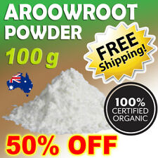 100% Organic Arrowroot Powder Starch Flour 100% Pure, Premium FREE SHIPPING