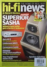 SUPERIOR SASHA / HI-FI NEWS Magazine AYRE AX-5 / INTEGRATED AMPS / SPEAKER MATCH