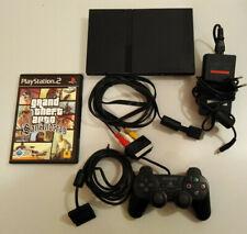 Sony Playstation 2, PS2 mit orig. Controller und Spiel