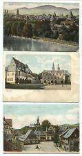 3 1910 era Goslar Germany Postcards