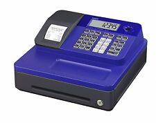Casio SE-G1SC-BU LCD Electronic Cash Register Thermal Printer with Blue Cabinet