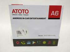 A6 Double Din Android Car Navigation Stereo WiFi BT Used