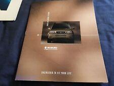 1999 Suzuki Grand Vitara USA Market Brochure Catalog Prospekt