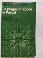 BOOK LA PROGRAMMAZIONE IN PASCAL FRANCO ANGELI DOROTHY A. WALSH