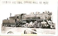 1937 Photograph CUMBERLAND RAILROAD & COAL Springhill NS Mining