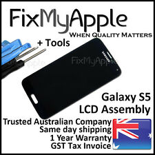 Samsung Galaxy S5 G900 White LCD Touch Screen Digitizer Assembly Replacement New