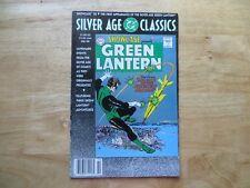 SILVER AGE CLASSICS SHOWCASE # 22 1ST GREEN LANTERN SIGNED JOE GIELLA, WITH POA