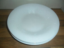 Plate White Glass