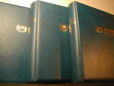 50 Jahre Uno / Vereinte Nationen - Sammlung von Sieger mit 3 Bänden **