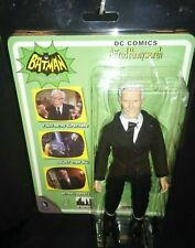 "ALFRED PENNYWORTH / Classic 8"" Batman TV Series Butler Action Figure NEW in case"