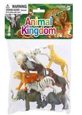 Bag of Wild animal kingdom Figures Model Toys New Plastic 8 pieces