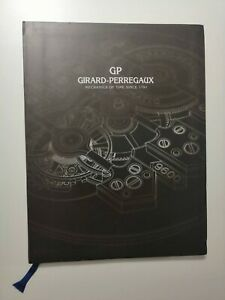 Girard Perregaux Mechanics Of Temps Since 1791 Manuel Catalogue Guide Montre