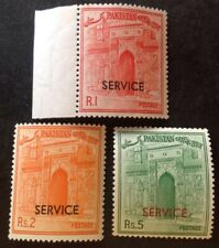 Pakistan 1961 3 X Service Stamps Mint Hinged
