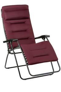 Lafuma Relax RSX Clip XL Air Comfort LFM 2041 3186 Bordeaux Garten Camping
