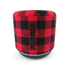 FABRIQ WiFi Portable Alexa Bluetooth Smart Muilti Room Speaker Audio Red Plaid