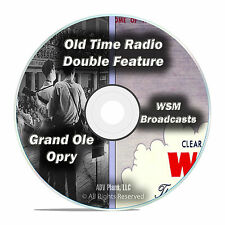 The Grand Ole Opry, 440 VINTAGE SHOWS, COUNTRY Old Time Radio, OTR, DVD CD F66