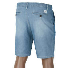 Reell Flex Grip Chino Denim Short light blue washed - Jeans Bermuda Short
