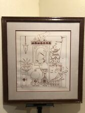 Denis Paul Noyer - Philippe Noyer Son - Hand Signed Lithograph 39 of 200 Framed