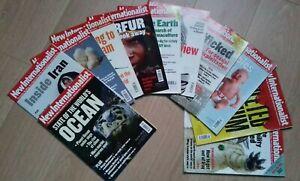 NEW INTERNATIONALIST MAGAZINES - Bundle of 11 from 2007